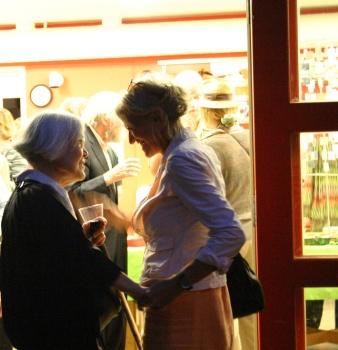 Women enjoy William Wainwright reception